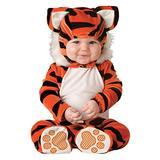 InCharacter Tiger Tot Infant Costume, Medium (12-18) Orange