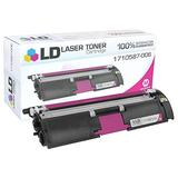 LD © Remanufactured Replacement for Konica-Minolta 1710587-006 Magenta Laser Toner Cartridge for use in Konica-Minolta MagiColor 2400, 2400w, 2430dl, 2450, 2480, 2480MF, 2490, 2490MF, 2500w, 2530DL, 2550DN, 2550EN, and 2590 Printers