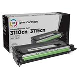 LD Remanufactured Toner Cartridge Replacement for Dell 310-8092 PF030 High Yield (Black)