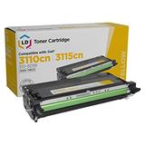 LD Remanufactured Toner Cartridge Replacement for Dell 310-8098 NF556 High Yield (Yellow)