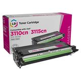 LD Remanufactured Toner Cartridge Replacement for Dell 310-8096 RF013 High Yield (Magenta)
