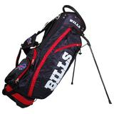Team Golf NFL Buffalo Bills Fairway Golf Stand Bag, Lightweight, 14-way Top, Spring Action Stand, Insulated Cooler Pocket, Padded Strap, Umbrella Holder & Removable Rain Hood