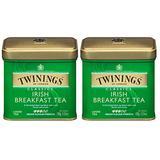 Twinings Irish Breakfast 100 Gram Loose Tea Tin, Set of 2