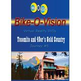 Bike-O-Vision - Virtual Cycling Adventure - Yosemite & 49'ers Gold Country - Perfect for Indoor Cycling and Treadmill Workouts - Cardio Fitness Scenery Video (FullscreenDVD #5)