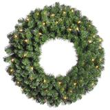 "Vickerman 03849 - 30"" Douglas Fir 50 Clear Lights Christmas Wreath (A808830)"