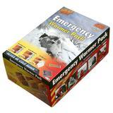 Heat Factory Emergency Preparedness Warmer Pack: 12 Pair Hand, 6 Pair Toe, and 6 Large Body Heat Warmers, 1 Mylar Blanket, 2 Glow Sticks