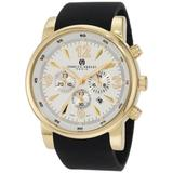Charles-Hubert, Paris Men's 3882-G Premium Collection Gold-Plated Stainless Steel Chronograph Watch