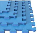 Foam Mat Floor Tiles, Interlocking Ultimate Comfort EVA Foam Padding by Stalwart – Soft Flooring for Exercising, Yoga, Camping, Kids, Babies, Playroom
