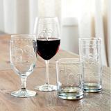 Set of 4 Fleur-De-Lis Glassware - Ballard Designs