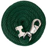 Weaver Leather Poly Lead Rope , Hunter Green, 10'