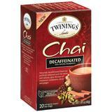 Twinings Decaffeinated Chai Tea, 40 Count