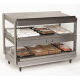 "Nemco 6480-18 18"" Self Service Countertop Heated Display Shelf - (2) Shelves, 120v"