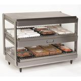 "Nemco 6480-18S 18"" Self Service Countertop Heated Display Shelf - (2) Shelves, 120v"