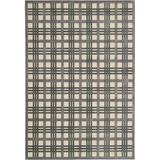 """Nourison Graphic Illusions GIL20 Ivory Taupe 7'9"""" x 10'10"""""""