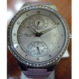 Kenneth Cole New York Leather Collection Silver Dial Women's watch #KC2584