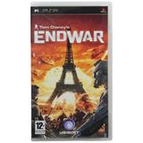 Sony Psp Video Game - Tom Clancy: End War (psp) (pack Of 1)