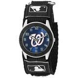 Game Time Youth MLB Rookie Black Watch - Washington Nationals Compatible with Washington Nationals