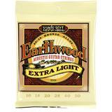 Ernie Ball 2006 Extra Light Earthwood 80/20 Bronze Acoustic Strings - .010-.050