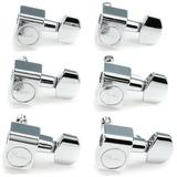 Fender American Professional Staggered Stratocaster/Telecaster Tuning Machines Set - Chrome