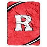 NCAA Rutgers Scarlet Knights Force Royal Plush Raschel Throw Blanket, 60x80-Inch