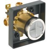 """Delta R10000-UNBXHF Universal Mixing Rough-In Valve with 1/2"""" NPT Male thread with 1/2"""" C.W.T Female"""