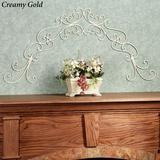 Chianti Scrolling Wall Grille , Creamy Gold