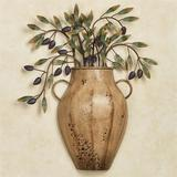 Vaso con Olives Wall Sculpture Harvest Gold , Harvest Gold