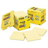 MMM67512SSCP Super Sticky Canary Yellow Post-It Lined Note Pads