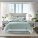 Harbor House Coastline Queen Size Bed Comforter Set - Blue