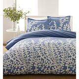 City Scene Branches Collection French Blue Comforter Set, Twin