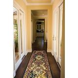 """Nourison India House Multicolor Runner Area Rug, 2-Feet 3-Inches by 7-Feet 6-Inches (2'3"""" x 7'6"""")"""
