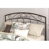 Hillsdale Furniture Traditional Wendell Headboard Without Rails, Full/Queen, Copper Pebble