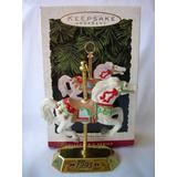 Hallmark Keepsake Ornament Tobin Fraley Carousel Horse 2nd in Collector's Series 1993