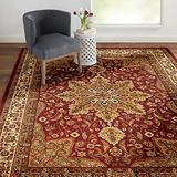 """Home Dynamix 8083-200 Royalty Ursa Traditional Area Rug 5'2""""x7'2"""", Oriental Red"""