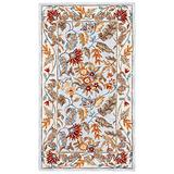 """Safavieh Chelsea Collection HK141D Hand-Hooked French Country Wool Runner, 2'6"""" x 6' , Light Blue"""