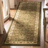 """Safavieh Lyndhurst Collection LNH212C Traditional Oriental Non-Shedding Stain Resistant Living Room Bedroom Runner, 2'3"""" x 16' , Sage / Ivory"""