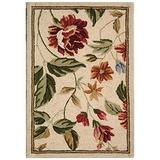 """Safavieh Chelsea Collection HK117A Hand-Hooked French Country Wool Accent Rug, 1'8"""" x 2'6"""", Ivory / Beige"""
