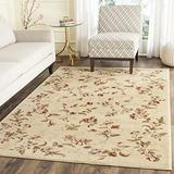 Safavieh Lyndhurst Collection LNH325A Traditional Floral Non-Shedding Stain Resistant Living Room Bedroom Area Rug, 8' x 11', Beige