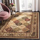 Safavieh Lyndhurst Collection LNH221C Traditional Oriental Non-Shedding Stain Resistant Living Room Bedroom Area Rug, 8' x 11', Multi / Beige