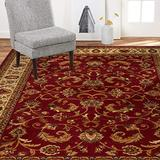 """Home Dynamix Royalty Elati Traditional Area Rug 7'8""""x10'4"""", Oriental Red/Ivory"""