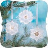Hallmark Wonder & Light Glowing Snowflake & Magic Cord Set Ornament