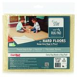 Eco Stay 5 ft. W x 8 ft. L Polyester Indoor Rug Pad