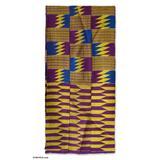 'God's Child' (16 inch width) - Hand Made Cotton Kente Cloth 16 inch