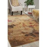 """Nourison Somerset Multicolor Rectangle Area Rug, 5-Feet 3-Inches by 7-Feet 5-Inches (5'3"""" x 7'5"""")"""