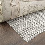 Home Dynamix Ultra Stop Non-Skid Cushioned Rug Pad 9'x12'3 Rectangle, Cream/Neutral
