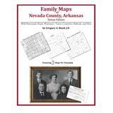 Family Maps of Nevada County, Arkansas