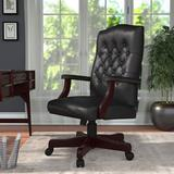 Boss Office Products Executive Chair Upholstered in Black, Size 43.5 H x 27.0 W x 28.0 D in   Wayfair B905-BK