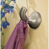 Moen Eva Wall Mounted Robe Hook Metal in Gray, Size 2.224 H x 1.986 W x 2.56 D in | Wayfair YB2803BN