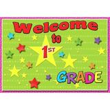 Top Notch Teacher Products Welcome to 1st Grade Postcard, Size 4.3 H x 6.0 W x 0.4 D in | Wayfair TOP5117