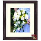 """Frames By Mail 16"""" x 20"""" Traditional Frame in Mahogany Wood in Brown, Size 23.0 H x 19.0 W x 0.75 D in 
